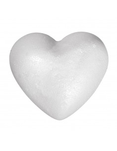 Cœur Plein en polystyrène -...