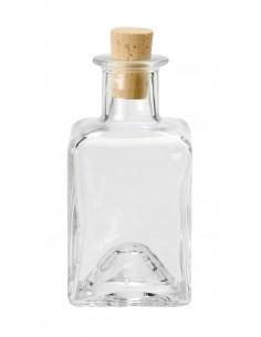 Fiole Carré en verre avec...