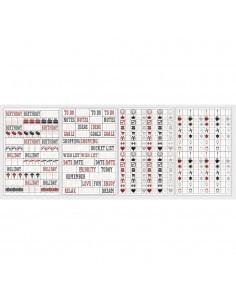 Stickers Symboles pour Planner