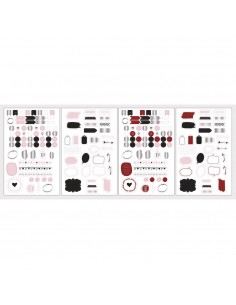 Stickers Icônes pour planner