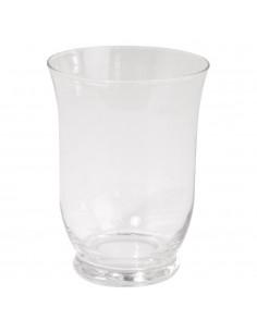 Vase en verre avec pied - Ø...