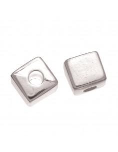 """Perles Cube """"Argent"""" - 7 x..."""