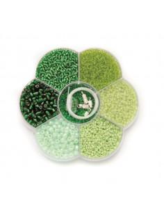 """Mix de Perles """"Vert"""""""