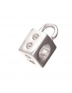 Perle Cube avec Œillet...