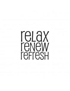 "Tampon en bois ""Relax -..."