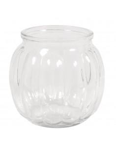 Vase en verre Bombé avec...