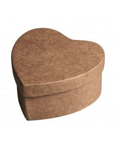 Boîtes en forme de cœur en...
