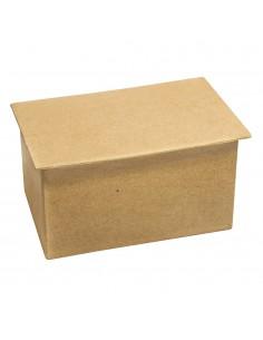 Boîte en papier-mâché pour...