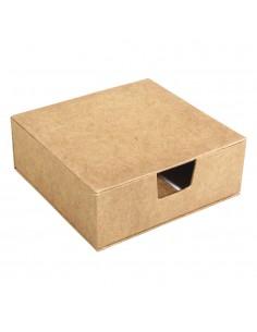 Boîte en papier-mâché avec...
