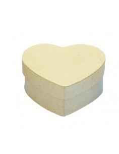 Boîte en forme de cœur en...