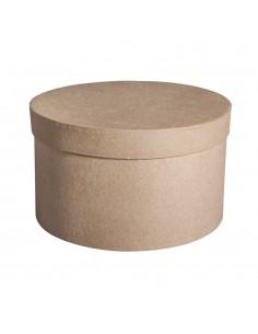 Boîte Ronde en papier-mâché...