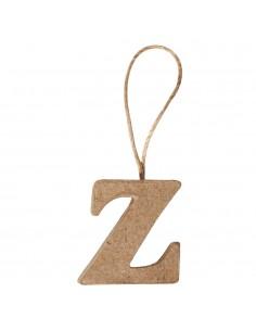 """Lettre """"Z"""" en papier-mâché..."""
