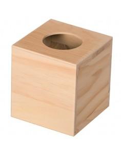 Boîte à mouchoirs carrée en...