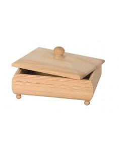 Boîte en bois avec...