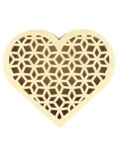 Boîte en forme de cœur avec...