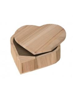 Boîte en bois en forme de...