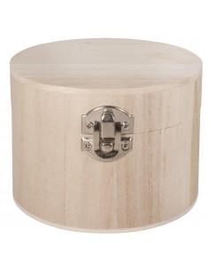 Boîte Ronde en bois avec...