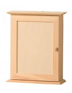 Boîte fermée en bois pour...
