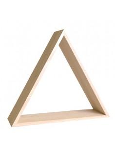 Cadre triangle en bois - 35...
