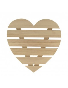 Cadre en forme de cœur en...