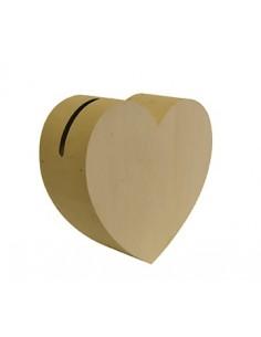 Urne en bois en forme de...