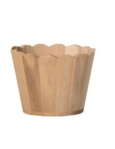 Vase Rond en bois - Ø 11 cm