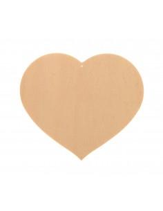 Cœurs en bois avec trou -...