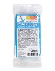 "Pâte à sucre ""Bleu"" - 100 gr"