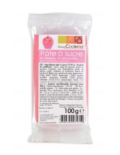 """Pâte à sucre """"Rose"""" - 100 gr"""