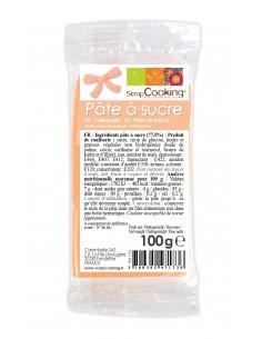 """Pâte à sucre """"Pêche"""" - 100 gr"""