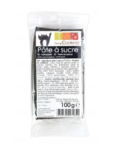 """Pâte à sucre """"Noir"""" - 100 gr"""