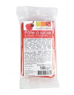 """Pâte à sucre """"Rouge"""" - 100 gr"""