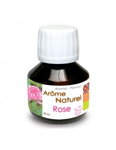 """Arôme Naturel Liquide """"Rose"""""""