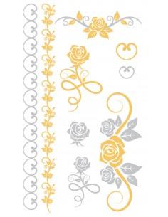 "Tattoo Chic ""Roses"" - 95 x..."