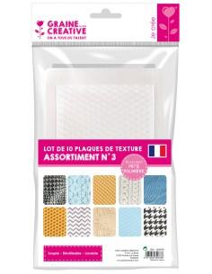 Plaques de Texture - 2 mm -...
