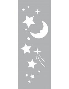 "Pochoir ""Nuit Étoilée"" - 15..."