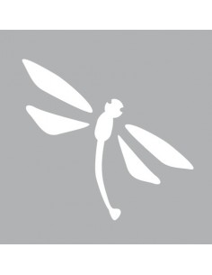 "Pochoir ""Libellule"" - 8 x 8 cm"