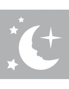 "Pochoir ""Lune & Etoile"" - 8..."