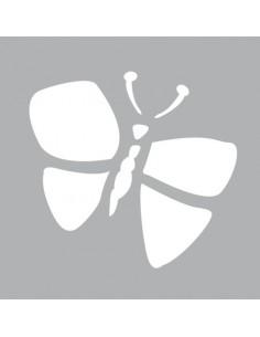 """Pochoir """"Papillon"""" - 8 x 8 cm"""