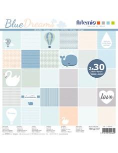 "Bloc de feuilles ""Blue..."