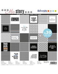 "Bloc de feuilles ""My Story""..."