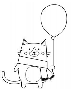 "Tampon en Bois ""Cat"" - 4.5..."