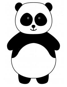 """Tampon en Bois """"Panda"""" -..."""