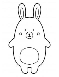 "Tampon en Bois ""Rabbit"" -..."