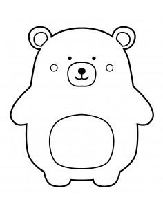 """Tampon en Bois """"Bear"""" - 3.7..."""