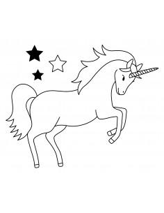 "Tampon en Bois ""Unicorn"" -..."
