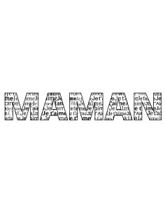 "Tampon en Bois ""Maman"" -..."