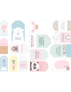 """Étiquettes """"Adorable"""" - 6 &..."""