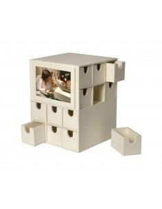 Boîte à casiers avec photo...