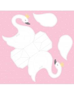 "Paniers à monter ""Lovely Swan"""